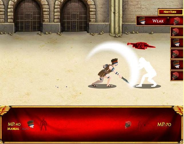 Игра Пески Колизея онлайн