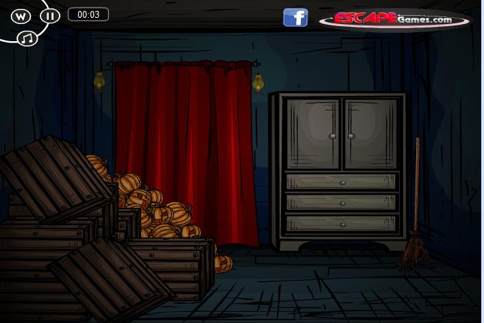 Игра Побег на хэллоуин онлайн