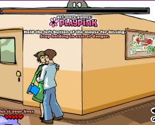 Игра Поцелуй в школе онлайн