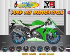 Игра Прокачай мотоцикл онлайн