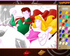 Игра Раскраска принцесса онлайн