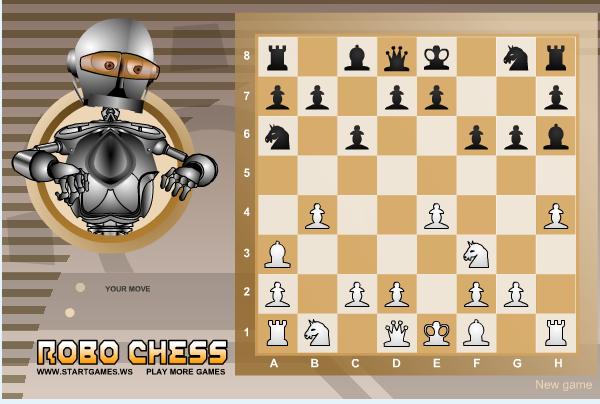 Игра Робо-шахматы онлайн