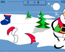 Игра Собери деда мороза онлайн