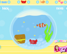 Игра Создай аквариум онлайн