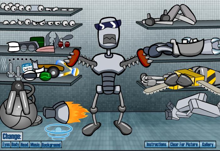 Онлайн игры Создай своего персонажа - играть бесплатно