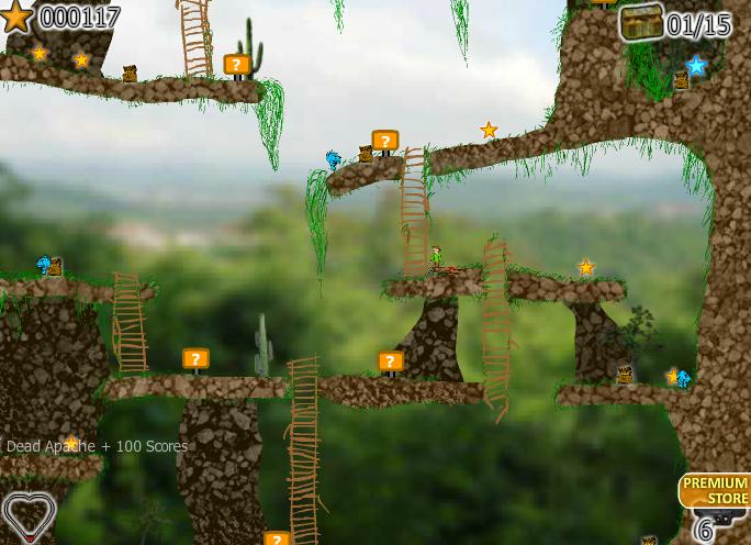 Игра Сокровища джунглей онлайн