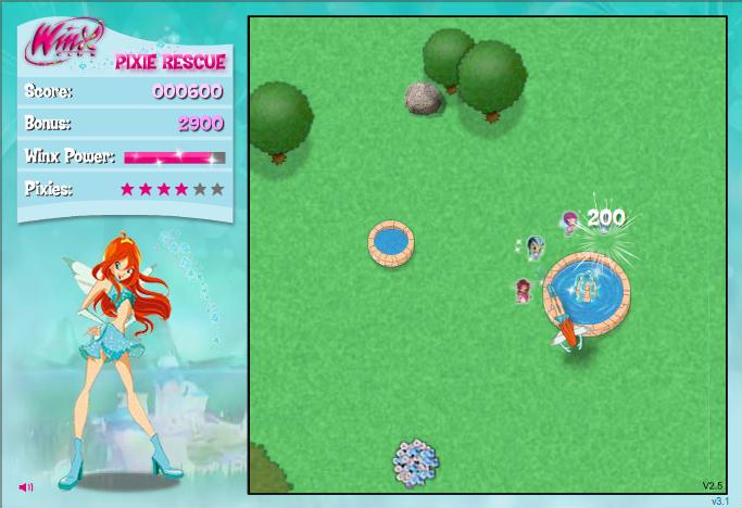 Игра Спасаем пикси онлайн