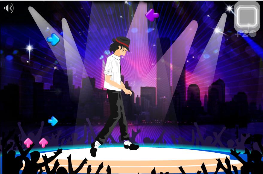 Игра Танцы Майкл Джексон онлайн