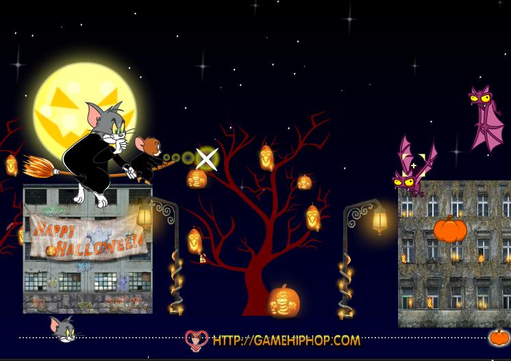 Игра Том и джерри хэллоуин онлайн