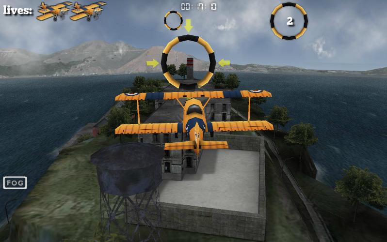Игра Трюки на Самолете Сан-франциско онлайн