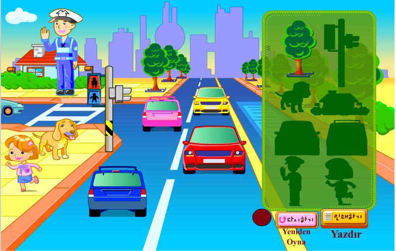 Игра Украсить город онлайн