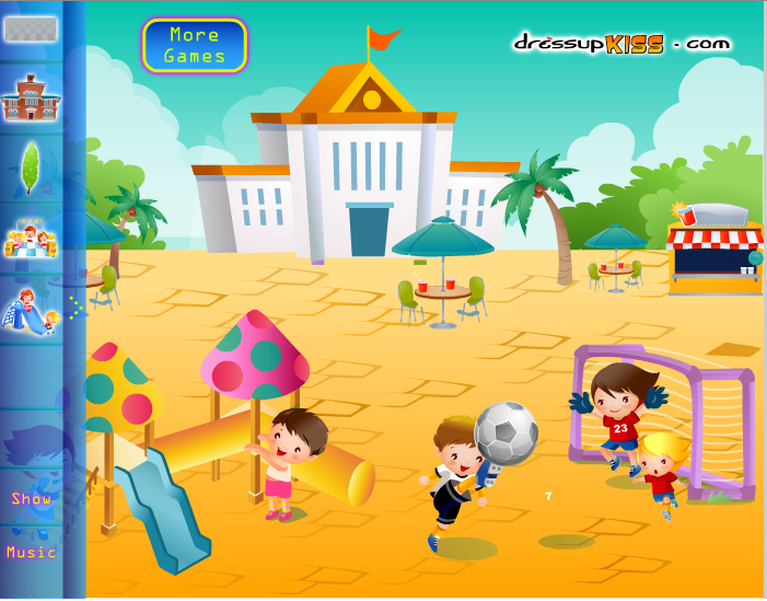 Игра Украсить школу онлайн