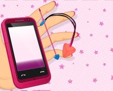 Игра Укрась мобильный телефон онлайн