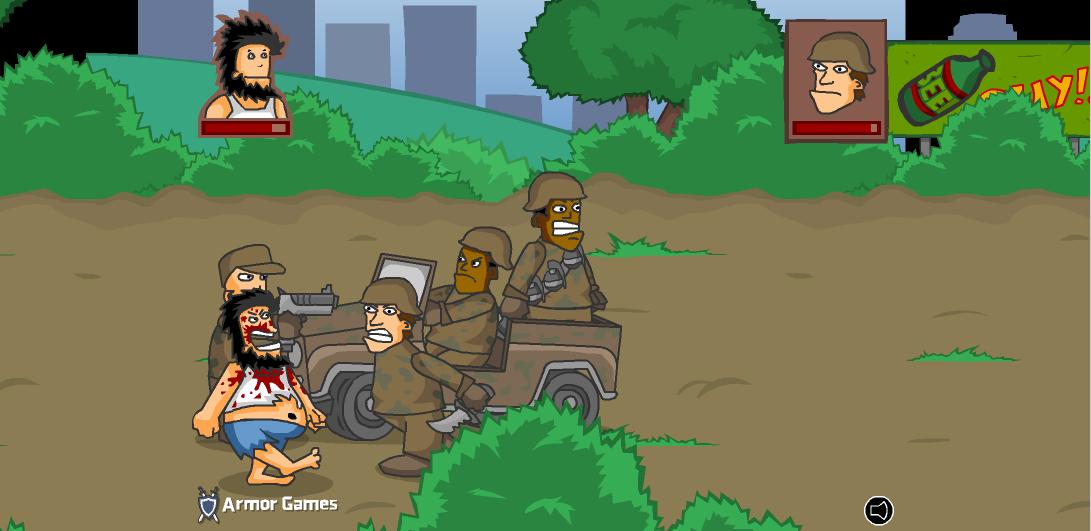 Игра Хобо 4 война онлайн