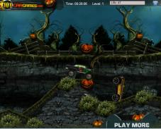 Игра Хэллоуин гонки онлайн