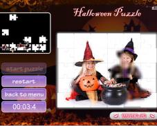 Игра Хэллоуин пазл онлайн