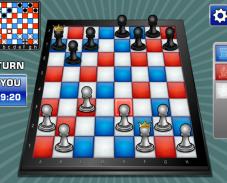 Игра Цветные шахматы онлайн