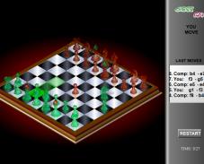 Игра Шахматы 3D онлайн