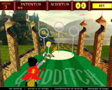 Игра Гарри поттер quidditch онлайн