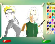 Игра Раскраска наруто онлайн