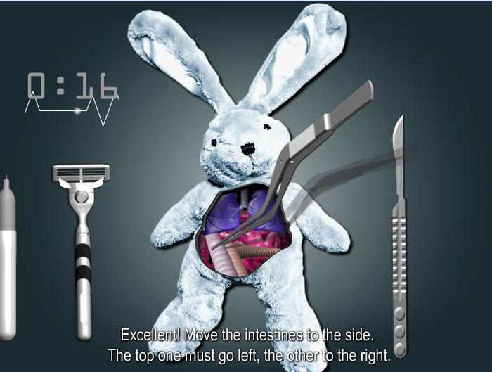 Игра Спаси кролика онлайн