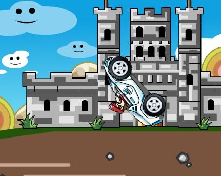 Игра Автомобиль Марио онлайн