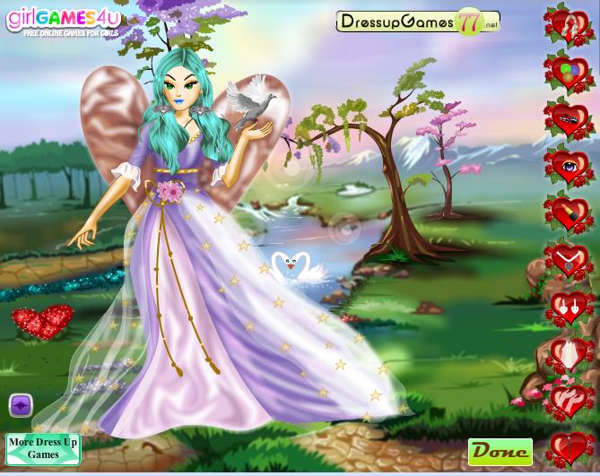 Игра Ангел любви онлайн