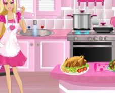 Игра Барби чистюля онлайн