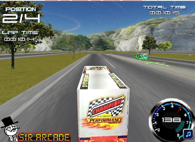 Игра Битва грузовиков онлайн