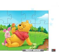 Игра Винни-пух пазл онлайн