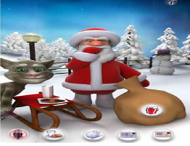 Игра Говорящий Санта онлайн