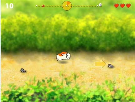 Игра Гонка хомячков онлайн