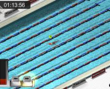 Игра Гонки в бассейне онлайн