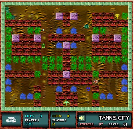 Игра Город танков онлайн