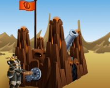 Игра Замковая пушка онлайн