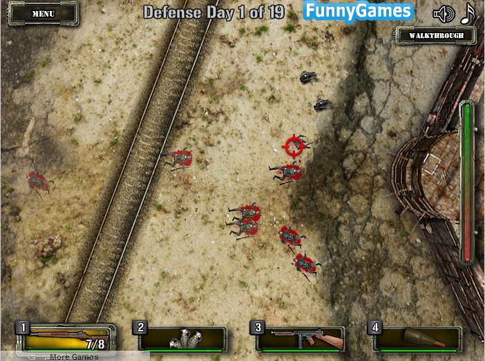 Игра Защита форта онлайн