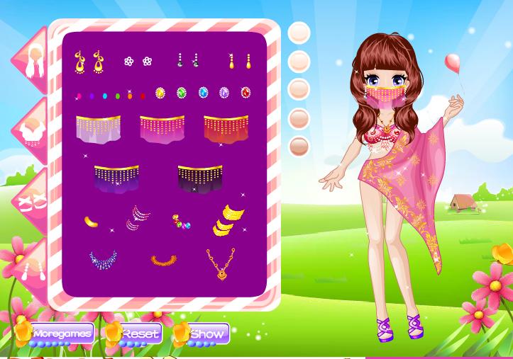 Игра Индийская принцесса онлайн