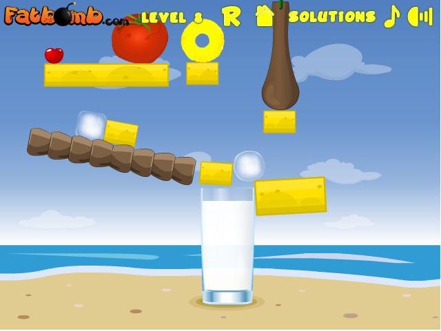 Игра Коктейль на пляже онлайн