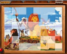 Игра Король лев пазл онлайн