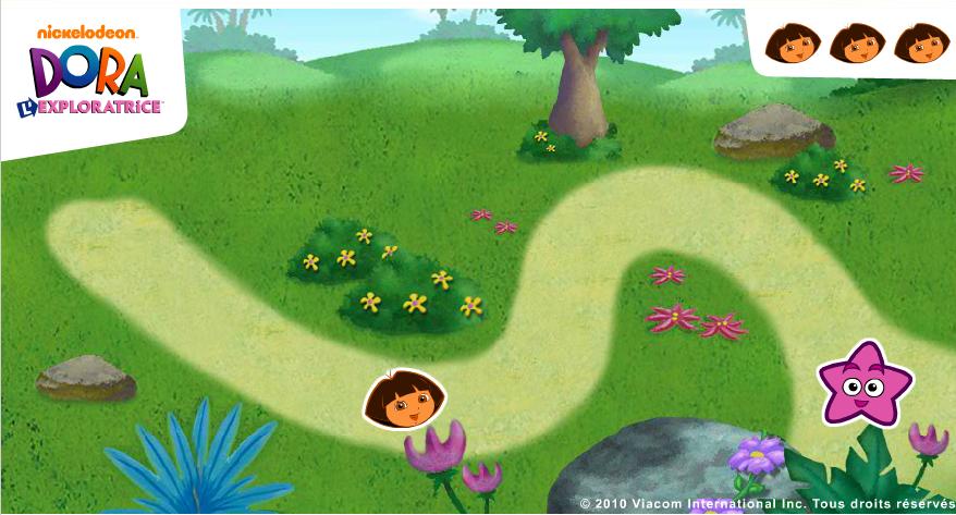 Игра Лабиринт Дора онлайн