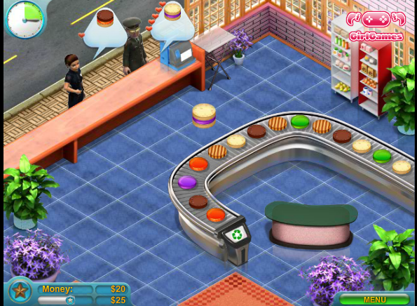 Игра Магазин пирожных онлайн