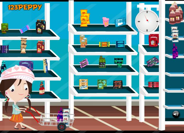 Игра Магазин продуктов онлайн