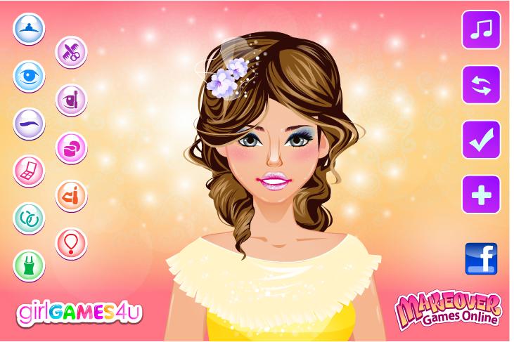 Игра Макияж принцессы онлайн