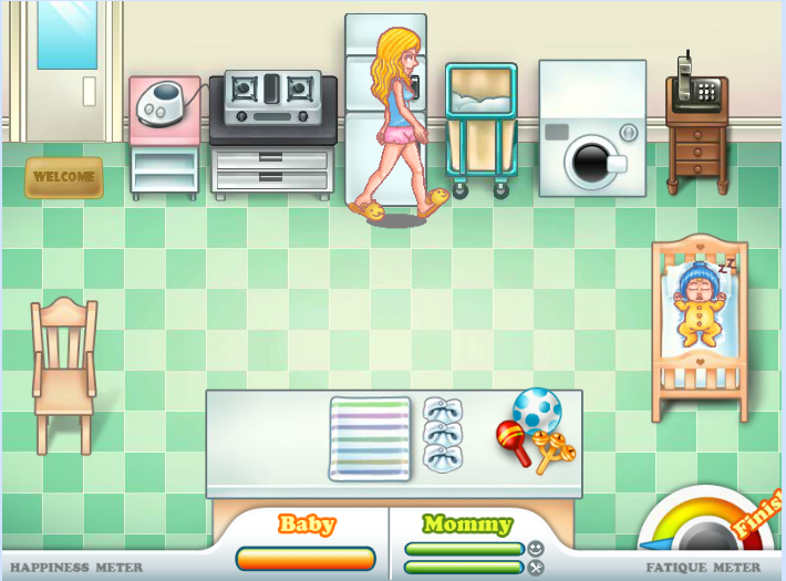 Игра Мама Николь онлайн