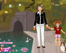 Игра Мама с дочкой онлайн