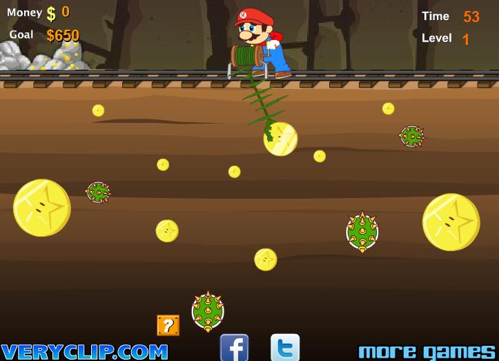 Игра Марио шахтер онлайн