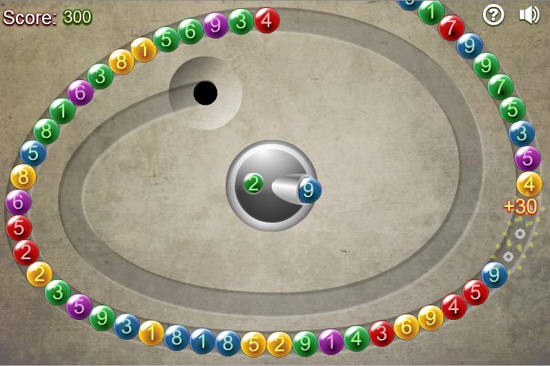 Игра Математические линии онлайн