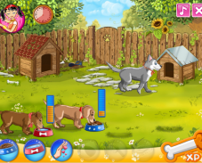 Игра Милые щенята онлайн