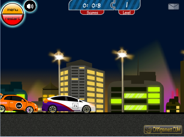 Игра Ночная гонка онлайн
