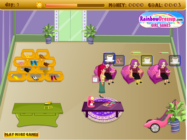 Игра Обувной магазин онлайн